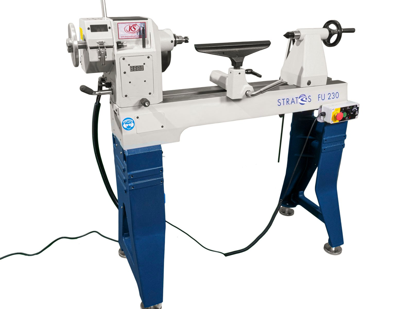Stratos-FU-230-Drechselmaschine-Totale-vorne-links